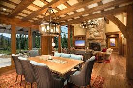 Log Cabin Living Room Concept Unique Inspiration Design