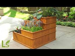 3 tier raised garden bed 3 patio lawn