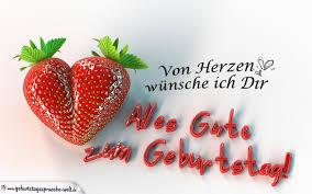 Glückwünsche Zum Geburtstag Für Den Partner Erdbeerherz
