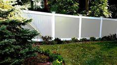 two tone vinyl privacy fence. Modren Privacy Twotoned Vinyl Privacy Fencing For Two Tone Fence L