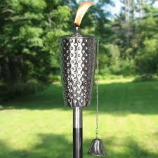 lighting tiki torches. Dimpled Stainless Tiki Torch Lighting Torches