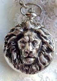 pirate pocket watch men s pocket watch by charsfavoritethings lion head pocket watch men s dual sided by charsfavoritethings