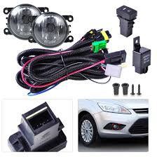 online buy whole fog light wiring kit for ford figo from black new wiring harness sockets switch 2 fog lights h11 lamp 12v 55w kit