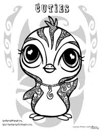 Coloring Pages Cute Printable Coloring Sheets Of Animals For Girls