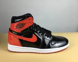 2018 air jordan 1 patent leather banned for 105 00