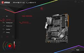 Msi Mystic Light Utility Bios And Software The Msi B450 Tomahawk Motherboard Review