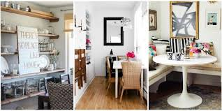 Small Dining Room Ideas Design Tricks For Making The Most Of A Beauteous Decorating Small Dining Room