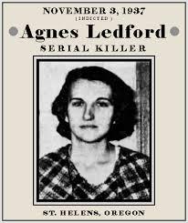Unknown Gender History: Agnes Joan Ledford, Oregon Serial Killer ...