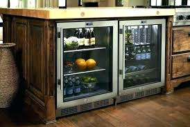 undercounter beverage cooler. 15 Beverage Cooler Undercounter Viking Center Under Counter Refrigerator Glass Door Wide