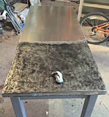 Make Stainless Steel Countertop How To Make Galvanized Steel Look Like Zinc