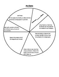 Pie Chart Template Worksheets Teaching Resources Tpt