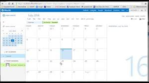 calendar office office 365 calendar create share calendar youtube