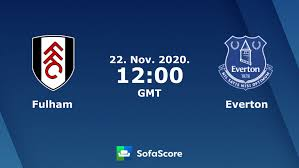 Fulham Everton live score, video stream and H2H results - SofaScore