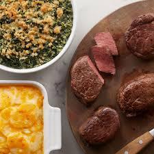 gourmet filet mignon dinner. Wonderful Filet A Gourmet Dinner To Impress With Four 6 Oz Filet Mignon Green Bean  Casserole Inside Gourmet Mignon Dinner E