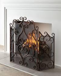 kora fireplace screen