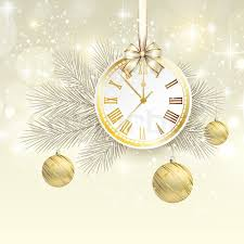 New Year Backgrounds New Year Vector Background With Gold Stock Vector Colourbox