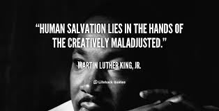 week of good deeds wordsthatserve mlk creatively maladjusted