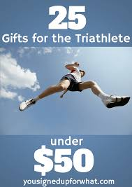 so to help you out i ve piled gift remendations for the triathletes in your family 25 gifts for the triathlete under 50