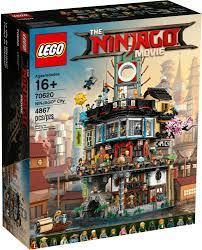 Lego Ninjago City für 220€ - Spielset mit 16 Figuren