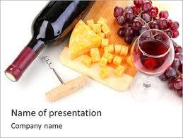 Wine Powerpoint Template Celebrate Powerpoint Template Smiletemplates Com