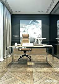 Good contemporary home office Luxury Contemporary Office Decor Modern Home Rilane Contemporary Office Decor Modern Mixed With Rustic Office