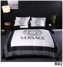 Designer Quilt Covers Queen Bed Comforters Sets Designer Bedding Sets Quilt Cover 4 Pieces Suit Explosion Models Thick Crystal Velvet Digital Printing Bed 2 0m01