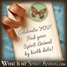 What Is My Spirit Animal By Birthday Zodiac Animals Birth Animal