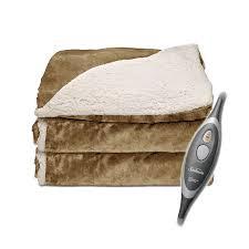 Sherpa Electric Heated Throw Blanket