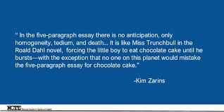 the five paragraph essay a personal history erin parke