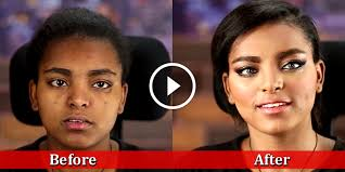 best party makeup tutorial for dark skin step by step