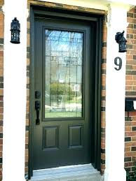 frosted glass front door modern stained entry doors leaded inserts