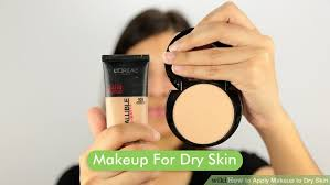 image led apply makeup to dry skin step 6