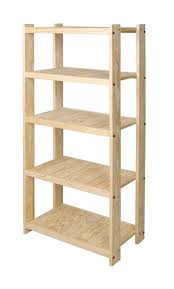First Pine Wood Shelving Unit Stor Pine Shelving in Wood Shelving Units