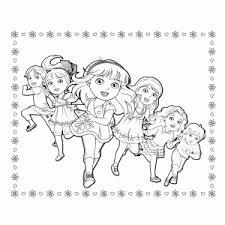 Dora And Friends Kleurplaten Leuk Voor Kids