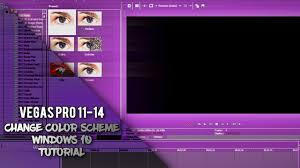 Windows 10 Color Scheme Sony Vegas Pro Change Color Scheme Windows 10 Youtube