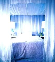 Drapes For Canopy Bed Bed Drapes Bed With Drapes Curtains For Bed ...
