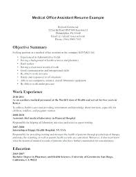 Front Office Medical Assistant Resume Sample Pharmacy Manager