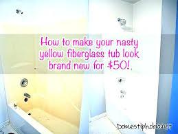 plastic bathtub cleaner cleaning fiberglass fiberglass tub cleaner rer