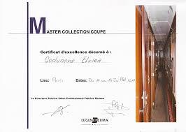 Еще парикмахерские дипломы Эльвира Годунова Диплом eugene perma 2011