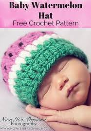Free Crochet Patterns For Baby Hats Magnificent 48 best Free Crochet Baby Hat Patterns images on Pinterest