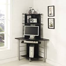 Compact Corner Desk Btm New Corner Computer Desk Black Mdf Home Office Work Station Pc