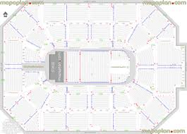 Allstate Arena Rosemont Il Seating Chart Allstate Arena Detailed Seat Row Numbers End Stage