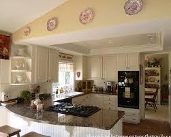 Kitchen Reno Wood Kitchen Cabinets Wine Rack Cream Color Granite Countertops