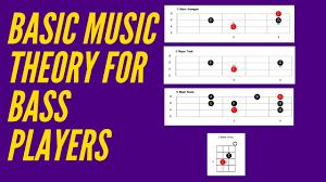 Beginner Bass Lesson Scale Triad Arpeggio Chord Explained