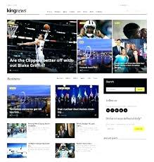 Website Template Newspaper Tribune Newspaper Theme News Website Template Wordpress