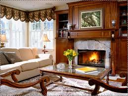 Decorations:Fireplace In The Living Room With White Sofa And Furniture Ideas  Best 25+
