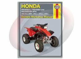 haynes honda trx ex trxr er atvs repair manual 1993 2006 haynes honda trx300 400ex trx450r er atvs repair manual 2318 shop