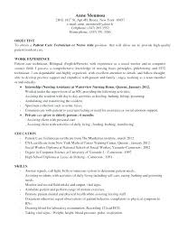 Patient Care Technician Job Description For Resume Inspirational