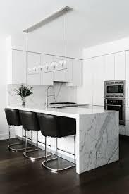 modern kitchen black and white. A Chic And Contemporary TriBeCa Apartment. All White KitchenWhite Modern Kitchen Black
