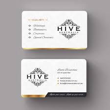 Design Print Mail Australia Elegant Feminine Business Business Card Design For Hive